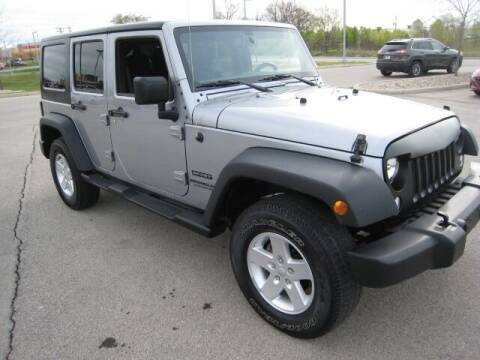 2017 Jeep Wrangler Unlimited for sale at FINNEY'S AUTO & TRUCK in Atlanta IN