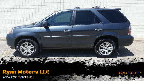 2006 Acura MDX for sale at Ryan Motors LLC in Warsaw IN
