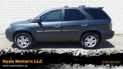 2006 Acura MDX for sale at Ryan Motors LLC in Warsaw IN