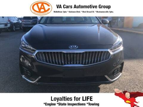 2017 Kia Cadenza for sale at VA Cars Inc in Richmond VA
