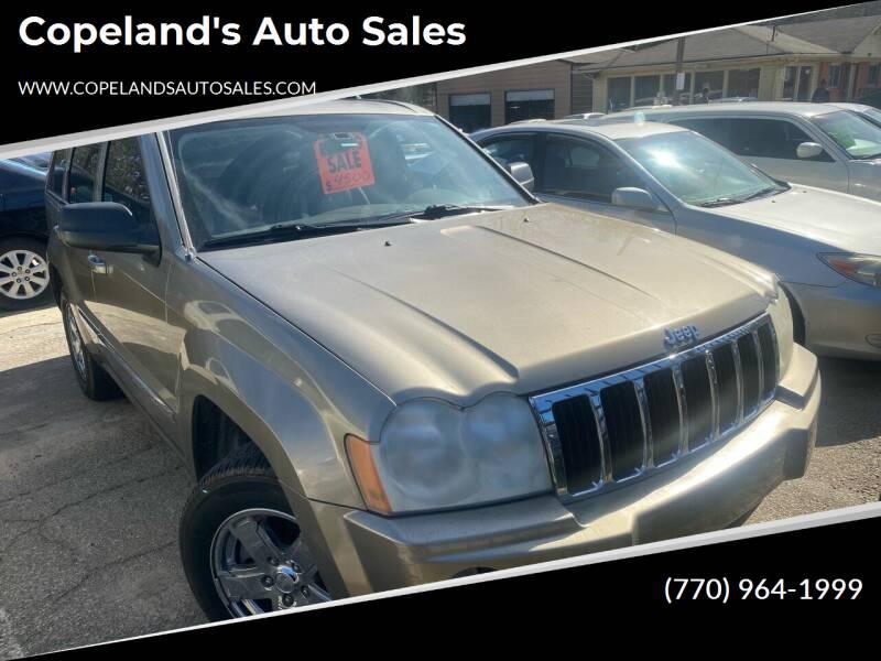 2006 Jeep Grand Cherokee for sale at Copeland's Auto Sales in Union City GA