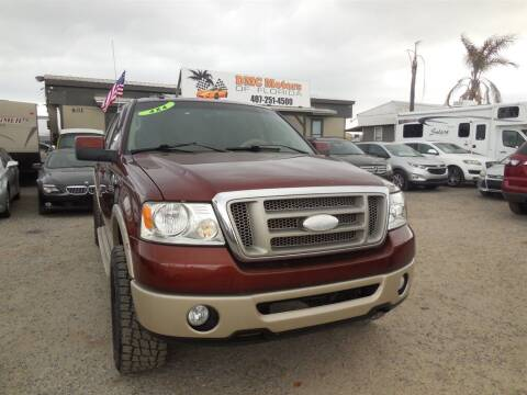 2007 Ford F-150 for sale at DMC Motors of Florida in Orlando FL