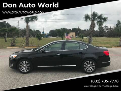 2016 Kia Cadenza for sale at Don Auto World in Houston TX