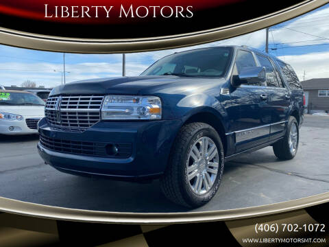 2013 Lincoln Navigator for sale at Liberty Motors in Billings MT