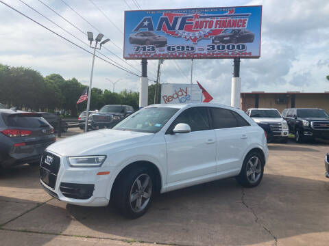 2015 Audi Q3 for sale at ANF AUTO FINANCE in Houston TX