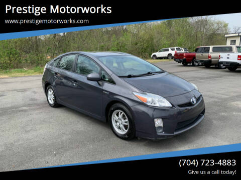 2010 Toyota Prius for sale at Prestige Motorworks in Concord NC