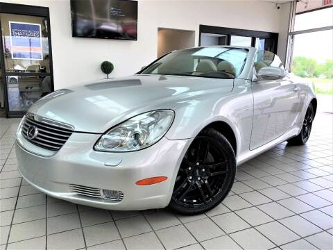 2003 Lexus SC 430 for sale at SAINT CHARLES MOTORCARS in Saint Charles IL