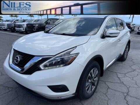 2018 Nissan Murano for sale at Niles Sales and Service in Key West FL