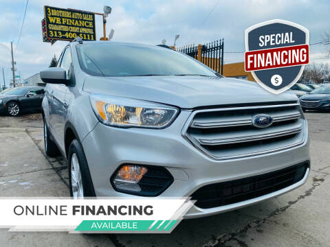 2018 Ford Escape for sale at 3 Brothers Auto Sales Inc in Detroit MI