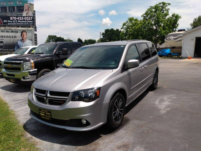 2017 Dodge Grand Caravan for sale at LEWIS AUTO in Mountain Home AR