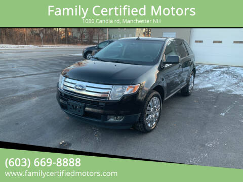 2010 Ford Edge for sale at Family Certified Motors in Manchester NH