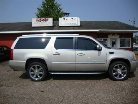 2007 Cadillac Escalade ESV for sale at G and G AUTO SALES in Merrill WI