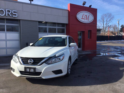 2016 Nissan Altima for sale at Legend Motors of Detroit in Detroit MI