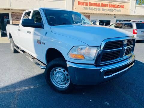 2011 RAM Ram Pickup 2500 for sale at North Georgia Auto Brokers in Snellville GA