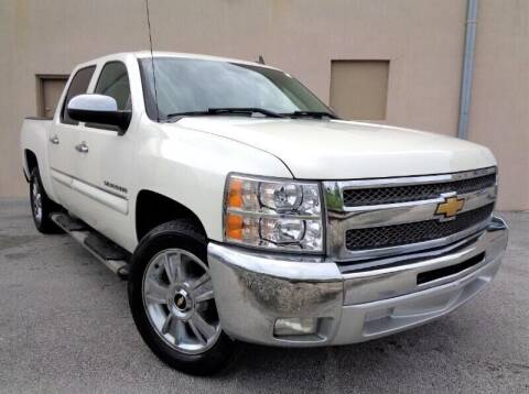 2012 Chevrolet Silverado 1500 for sale at Selective Motor Cars in Miami FL