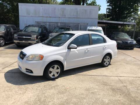 2009 Chevrolet Aveo for sale at Baton Rouge Auto Sales in Baton Rouge LA