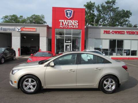 2013 Chevrolet Cruze for sale at Twins Auto Sales Inc Redford 1 in Redford MI