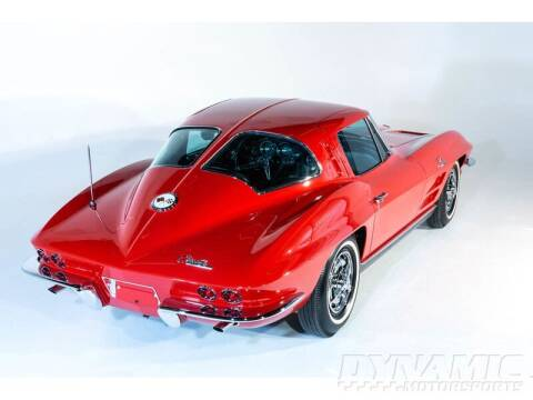 1963 Chevrolet Corvette for sale at SW Dynamic Motorsports in Garland TX
