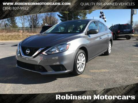 2018 Nissan Sentra for sale at Robinson Motorcars in Hedgesville WV