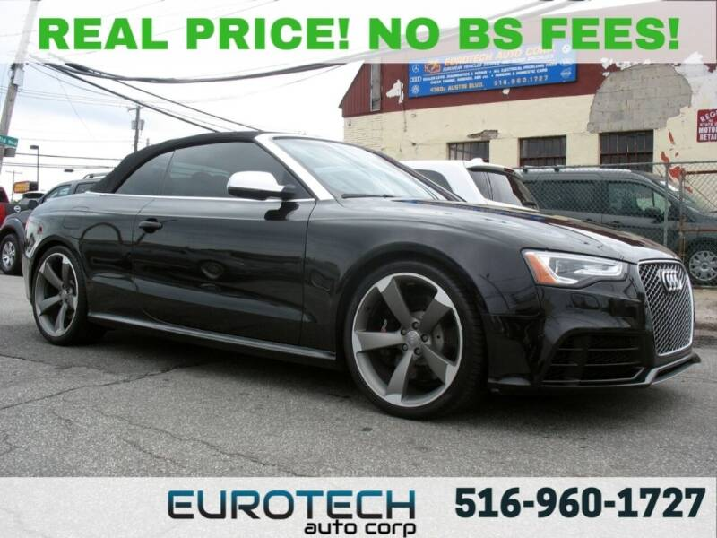 2014 Audi RS 5 for sale at EUROTECH AUTO CORP in Island Park NY