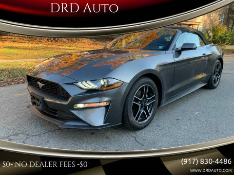 2020 Ford Mustang for sale at DRD Auto Market in Flushing NY