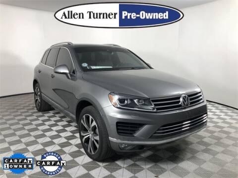 2017 Volkswagen Touareg for sale at Allen Turner Hyundai in Pensacola FL