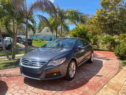 2010 Volkswagen CC for sale at ONYX AUTOMOTIVE, LLC in Largo FL