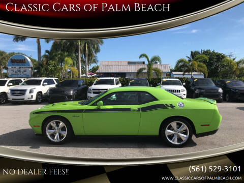 2015 Dodge Challenger for sale at Classic Cars of Palm Beach in Jupiter FL