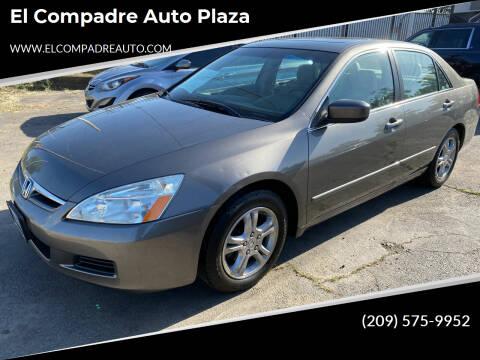 2007 Honda Accord for sale at El Compadre Auto Plaza in Modesto CA