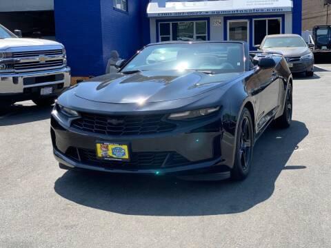 2019 Chevrolet Camaro for sale at AGM AUTO SALES in Malden MA