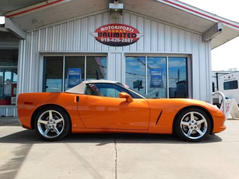 2007 Chevrolet Corvette for sale at Motorsports Unlimited in McAlester OK