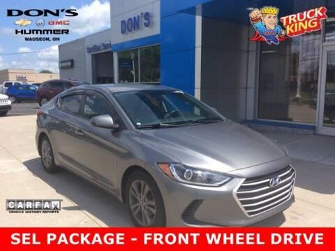 2018 Hyundai Elantra for sale at DON'S CHEVY, BUICK-GMC & CADILLAC in Wauseon OH