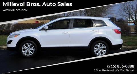 2012 Mazda CX-9 for sale at Millevoi Bros. Auto Sales in Philadelphia PA