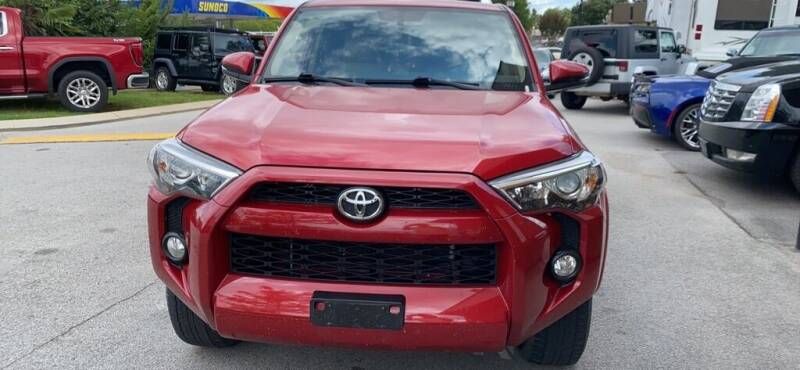 2016 Toyota 4Runner for sale at Z Motors in Chattanooga TN