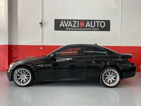 2012 BMW M3 for sale at AVAZI AUTO GROUP LLC in Gaithersburg MD