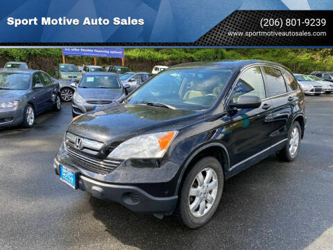 2007 Honda CR-V for sale at Sport Motive Auto Sales in Seattle WA