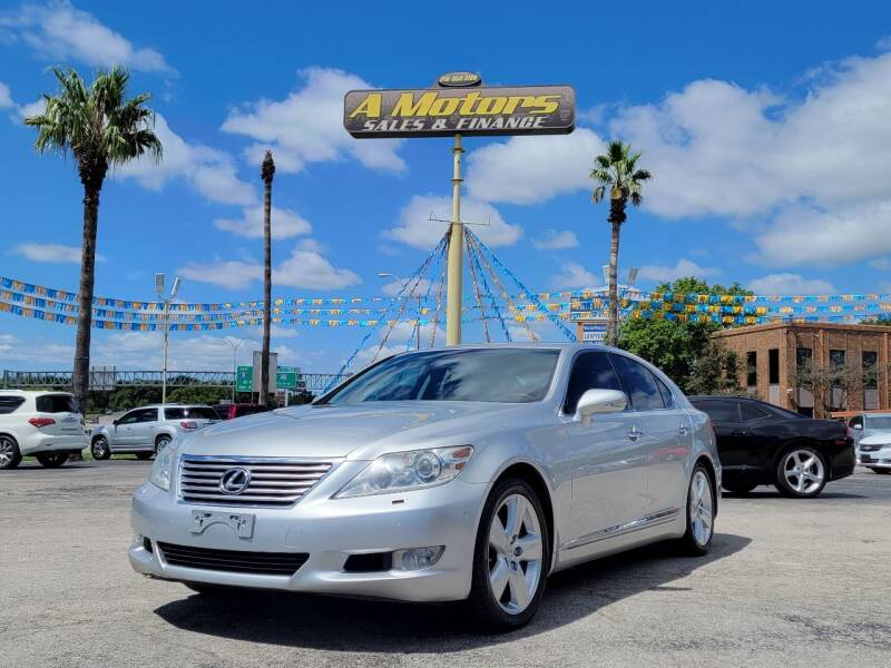 2010 Lexus LS 460 for sale at A MOTORS SALES AND FINANCE in San Antonio TX