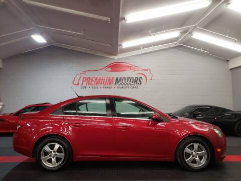 2013 Chevrolet Cruze for sale at Premium Motors in Villa Park IL