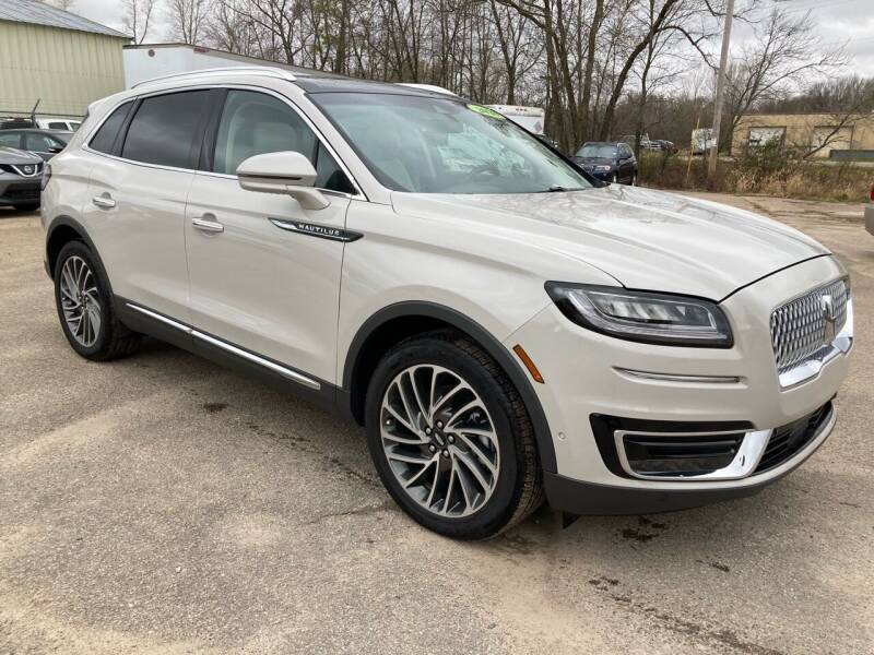 2020 Lincoln Nautilus for sale at SUNSET CURVE AUTO PARTS INC in Weyauwega WI