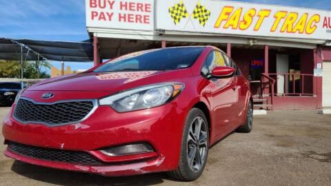 2016 Kia Forte for sale at Fast Trac Auto Sales in Phoenix AZ