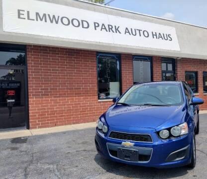 2013 Chevrolet Sonic for sale at Elmwood Park Auto Haus in Elmwood Park IL