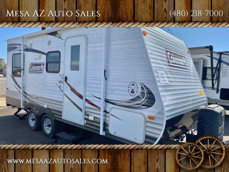 2013 Coleman 19FT TRAILER for sale at Mesa AZ Auto Sales in Apache Junction AZ