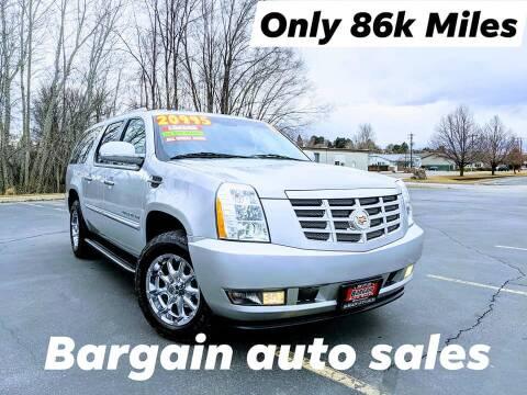 2011 Cadillac Escalade ESV for sale at Bargain Auto Sales LLC in Garden City ID