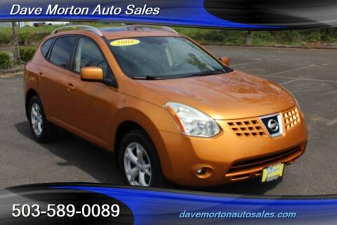 2008 Nissan Rogue for sale at Dave Morton Auto Sales in Salem OR
