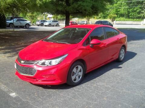 2017 Chevrolet Cruze for sale at Key Auto Center in Marietta GA