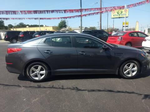 2015 Kia Optima for sale at Kenny's Auto Sales Inc. in Lowell NC