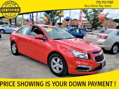 2016 Chevrolet Cruze Limited for sale at AutoBank in Chicago IL