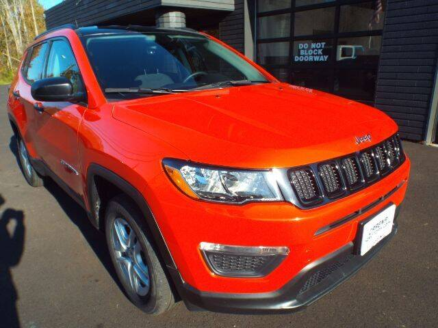 2018 Jeep Compass for sale at Carena Motors in Twinsburg OH
