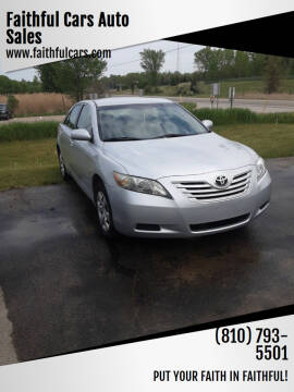 2007 Toyota Camry for sale at Faithful Cars Auto Sales in North Branch MI