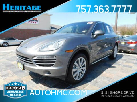 2013 Porsche Cayenne for sale at Heritage Motor Company in Virginia Beach VA